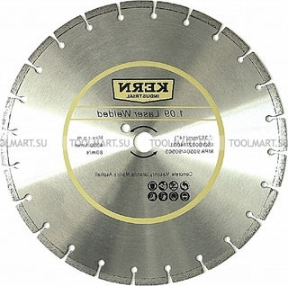 Алмазный диск по бетону 12'' KERN LASER WELDED серия 1.09 K508300830